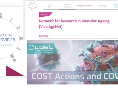 VascAgeNet to join forces with other COST actions to tackle the COVID-19 pandemic