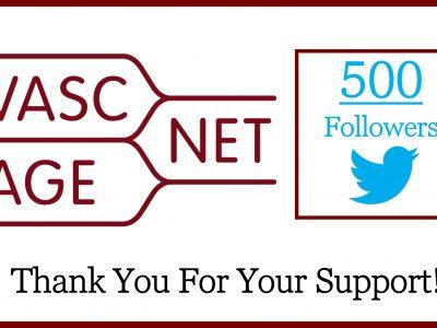 500 Twitter followers!