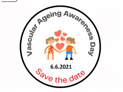 SAVE THE DATE for the 1st Vascular Ageing Awareness Day 6.6.2021. More details coming soon.