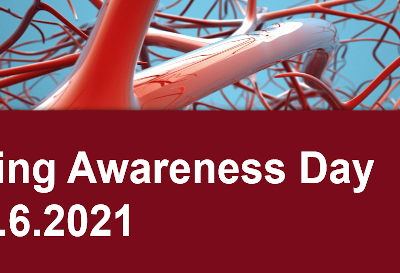 Get ready for the 1st Vascular Ageing Awareness Day 6.6.2021
