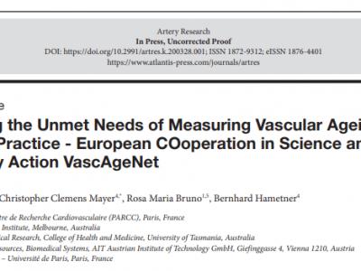 VascAgeNet Protocol Paper