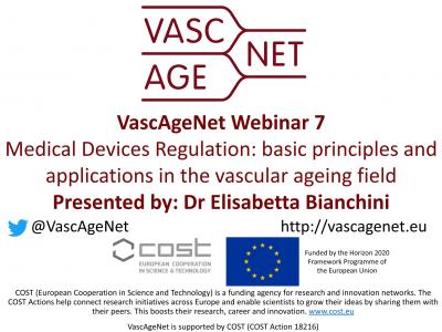 "Successful Webinar 7 on ""Medical Devices Regulation"" by Dr. Elisabetta Bianchini"