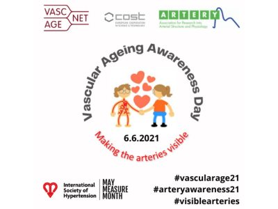 We are delighted to introduce the first VASCULAR AGEING AWARENESS DAY- June 6th 2021